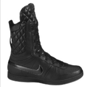 Nike women's Legend quilted hightop boots